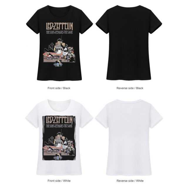 Women's Led Zeppelin T Shirts